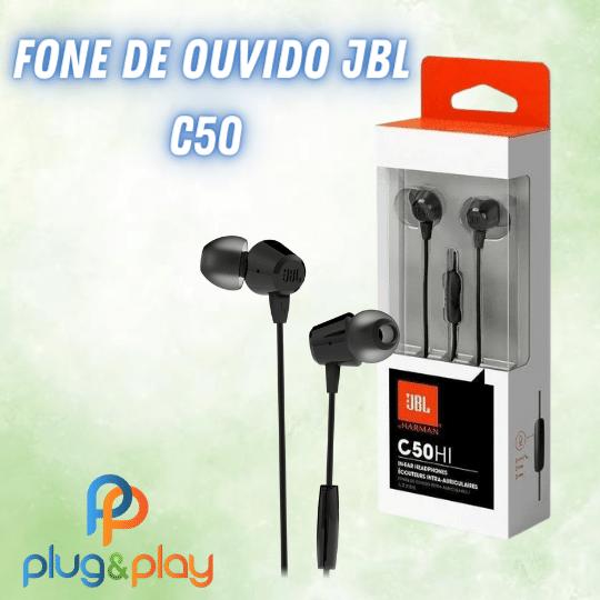 FONE DE OUVIDO JBL INTRA - AURICULAR C50