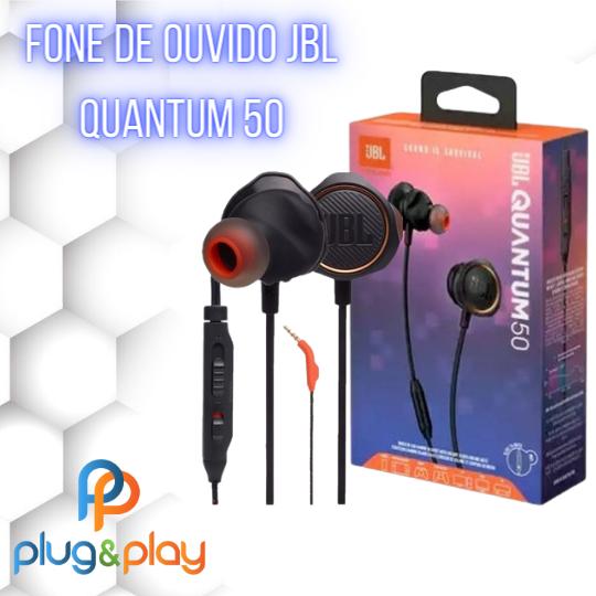 FONE DE OUVIDO INTRA - AURICULAR JBL QUANTUM 50