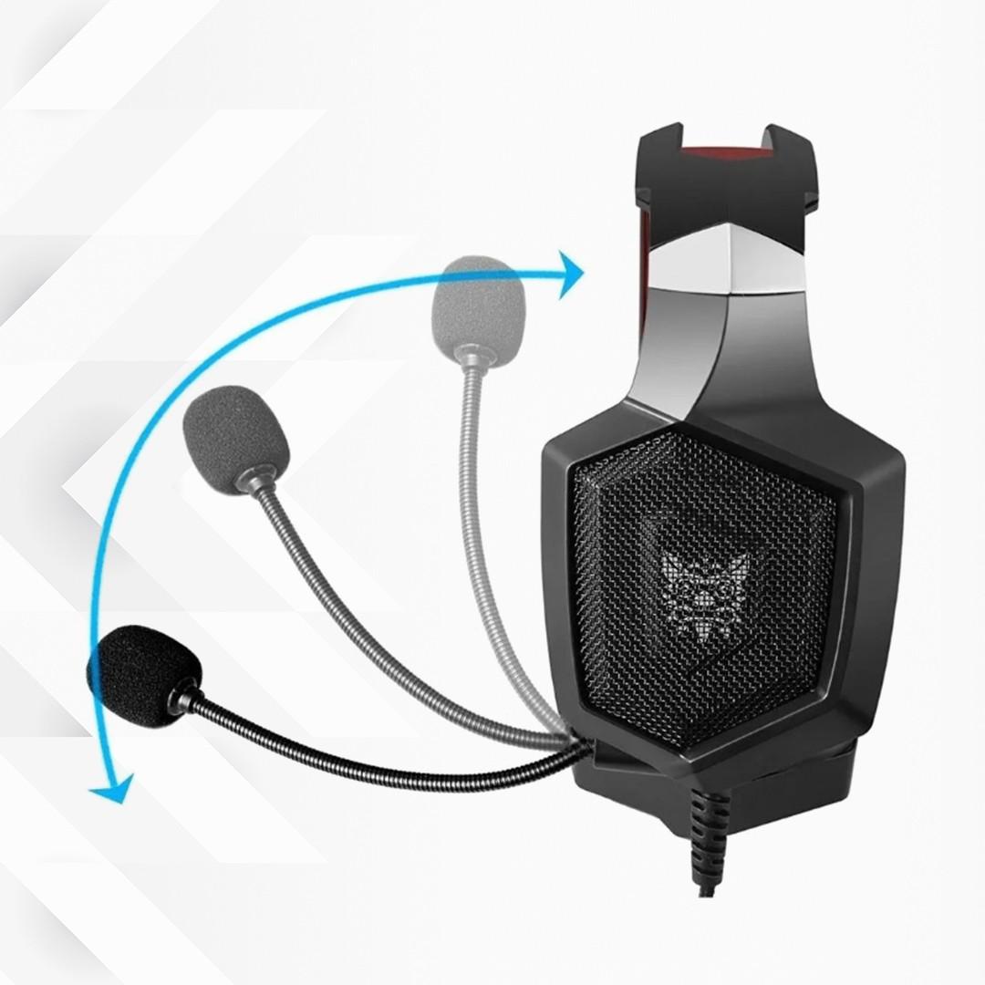 FONE DE OUVIDO HEADSET GAMER K8 RGB LED ONIKUMA