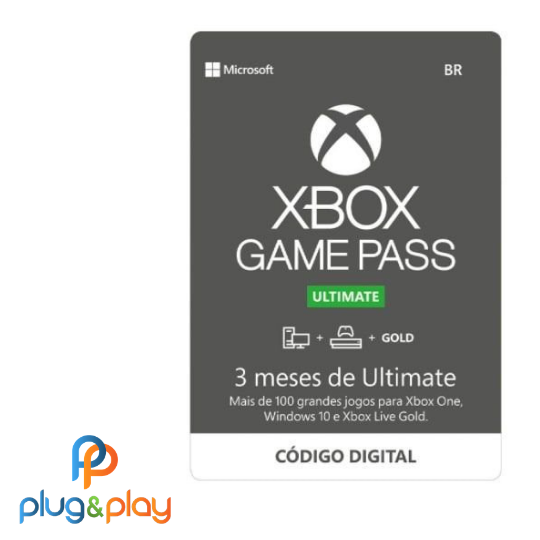 GIFT CARD XBOX STORE PASS ULTIMATE 3 MESES