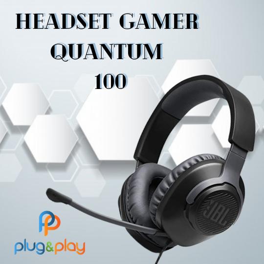 FONE DE OUVIDO HEADSET GAMER JBL QUANTUM 100