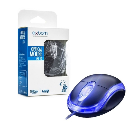 MOUSE EXBOM USB MS9