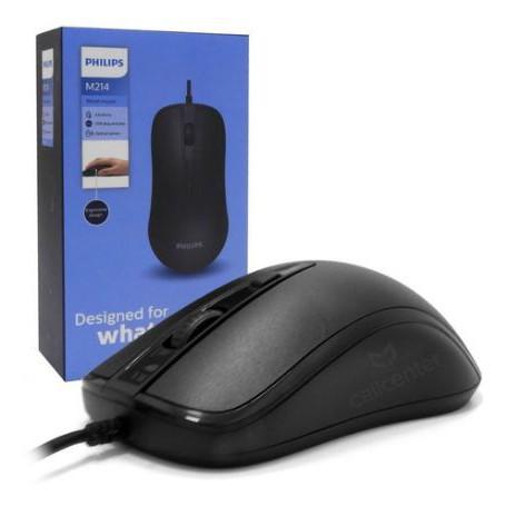 MOUSE PHILIPS USB COM FIO SPK-7204