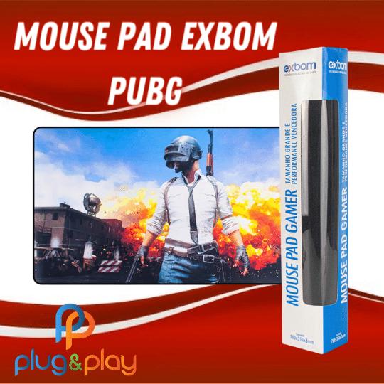 MOUSEPAD GAMER EXBOM GRANDE ESTAMPADO MP - 7035  (PUBG)