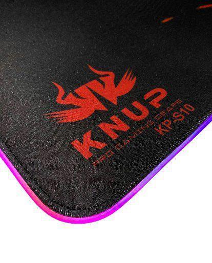 MOUSEPAD GAMER KNUP COM LED KP - S10