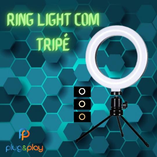 RING LIGHT EXBOM PEQUENO DE 6 POLEGADAS