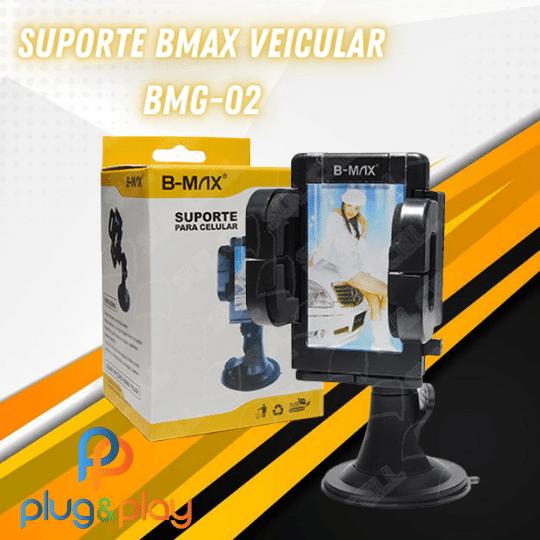 SUPORTE BMAX VEICULAR COM VENTOSA BMG-02