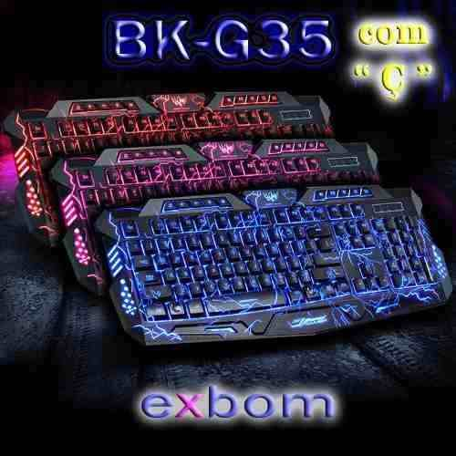 TECLADO GAMER EXBOM GC - G35
