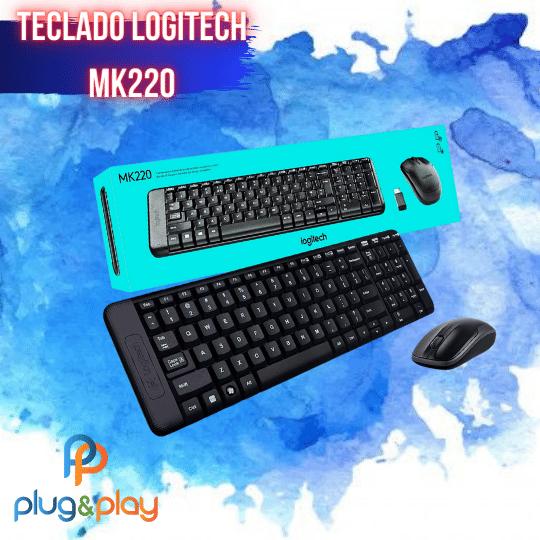 TECLADO LOGITECH MK220