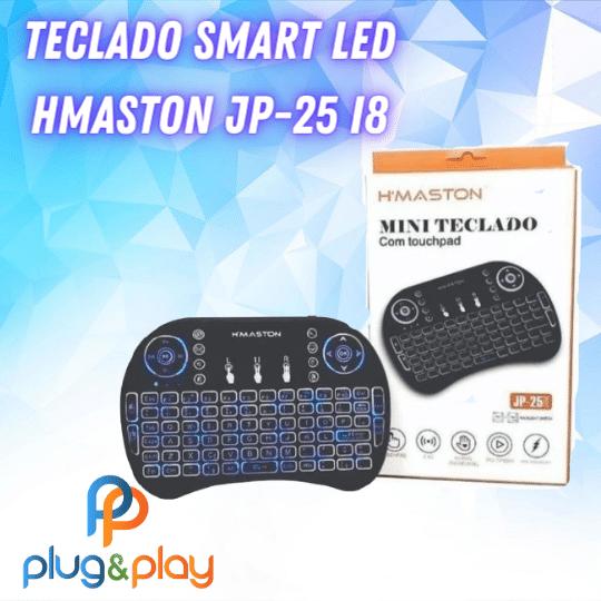 TECLADO SMART LED H'MASTON JP-25 I8