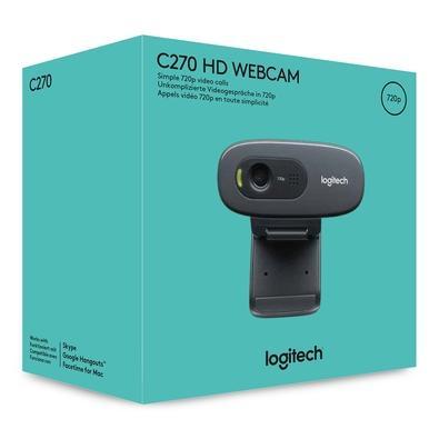 WEBCAM LOGITECH C270 HD 720P USB 2.0