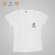 Camiseta Baby Look Branca