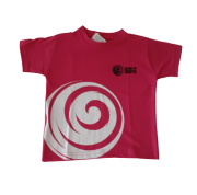 Camiseta Manga Curta Rosa