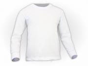 Camiseta manga longa lisa
