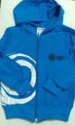 Jaqueta de Helanca Azul
