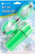 Kit de Natação Verde