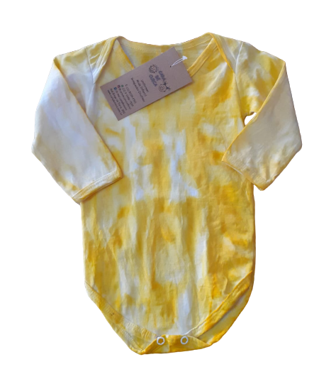 Body ML Tie Dye Amarelo