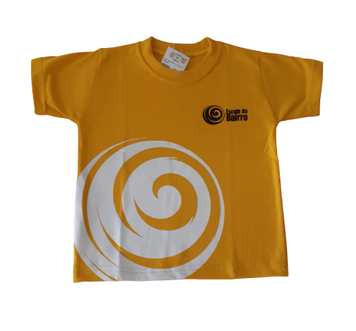 Camiseta Manga Curta Amarela
