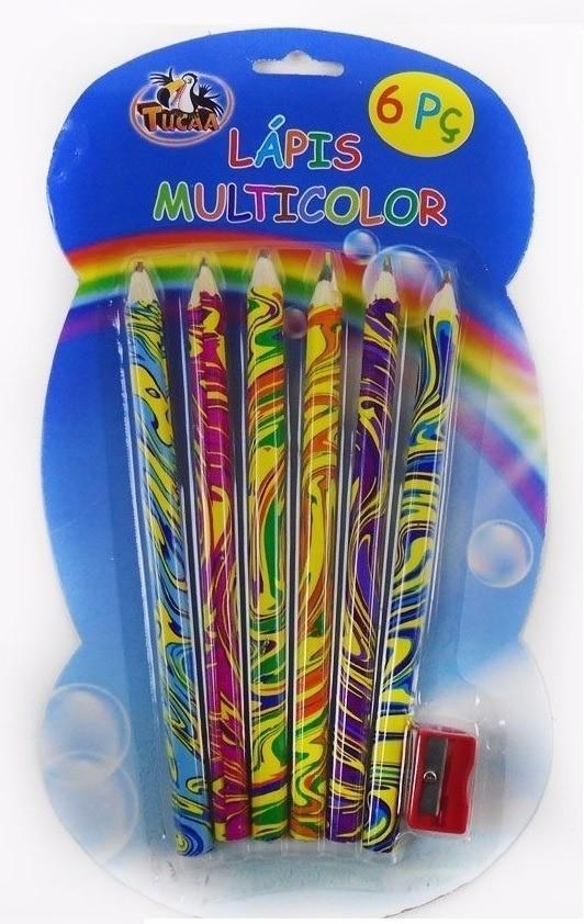 Kit Lápis Multicolor