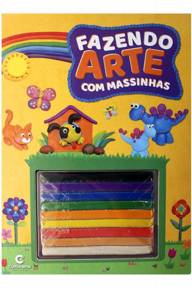 Livro Fazendo Artes com massinha