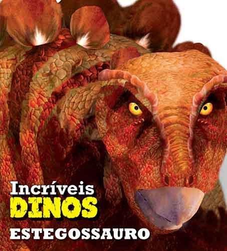 Livro incriveis Dinos Estegossauro
