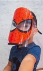 Mascara  Face Shild Homem Aranha