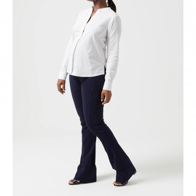 Camisa Basica Gestante Branco