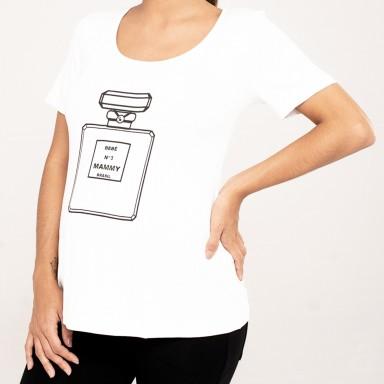 Camiseta Perfume Branca