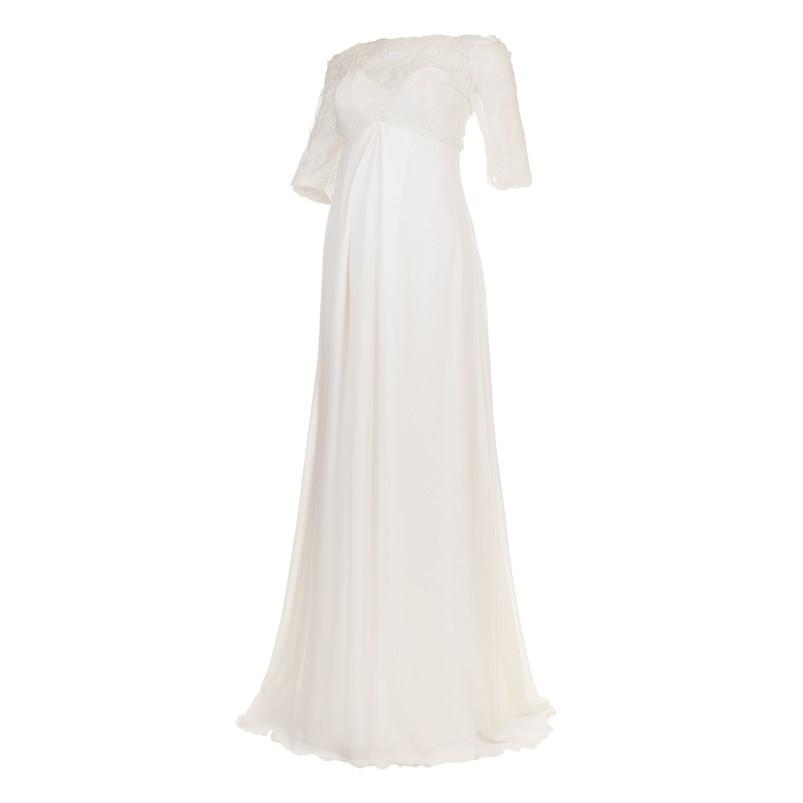 Vestido Noiva LG Georgete Branco