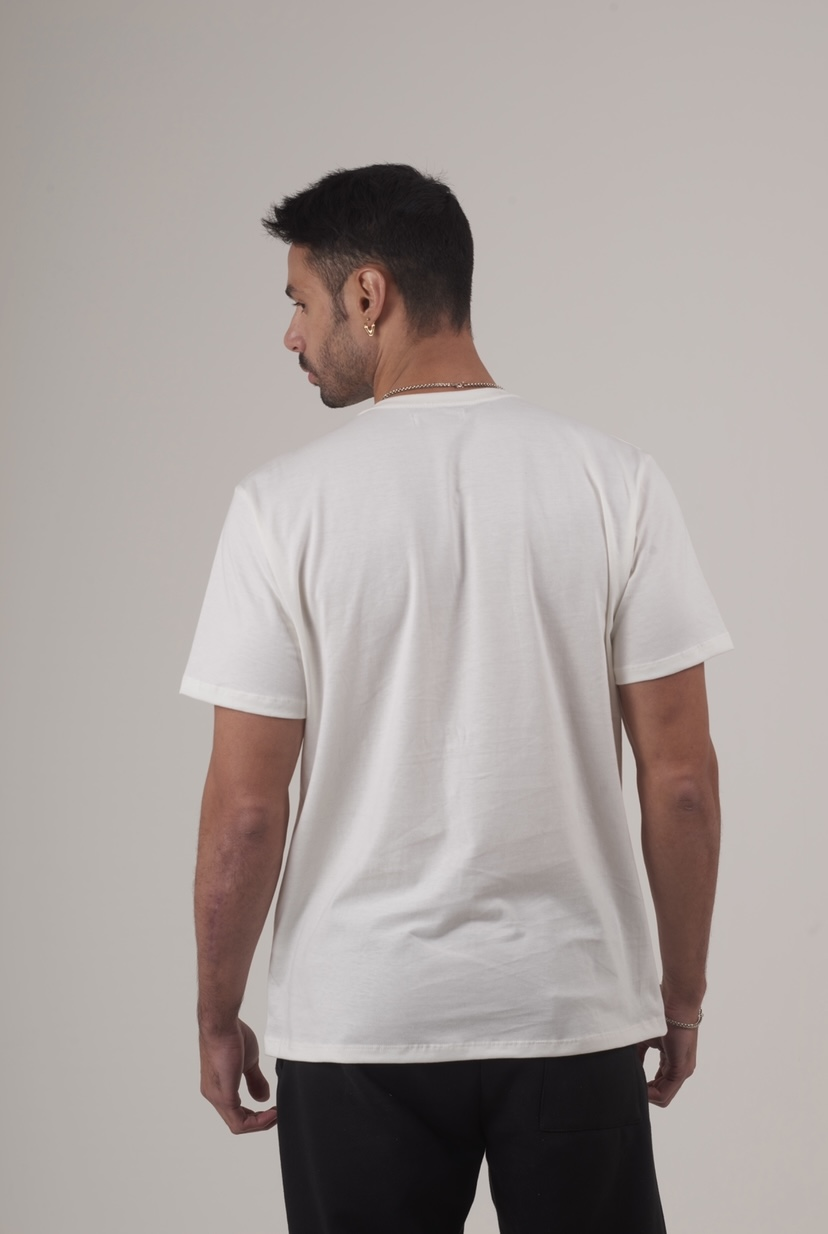 T-shirt Chamonix - Off White  - Garré