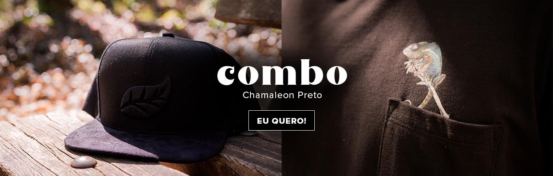 Combo Chamaleon Preto