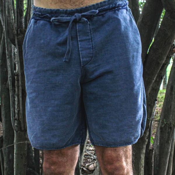 Bermuda Moletom Jeans