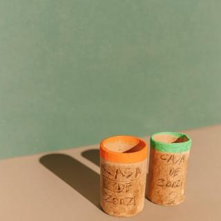 Copo de Cerâmica Queimada 30ml