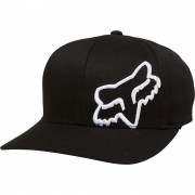 # BONE FOX S/M LIFESTYLE FLEX 45 FLEXFIT HAT16 BLK/WHITE
