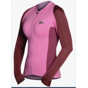 CAMISA SOL FEM MG LG TRAINING PINK