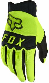 LUVA FOX MX DIRTPAW FLO YLW L