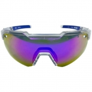 OCULOS HB SHIELD EVO R CLEAR MULTI PURPLE