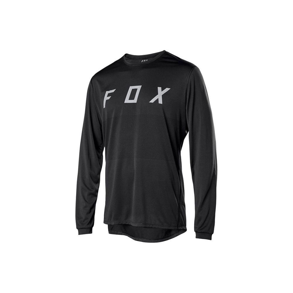 CAMISA FOX XL BIKE RANGER LS BLK