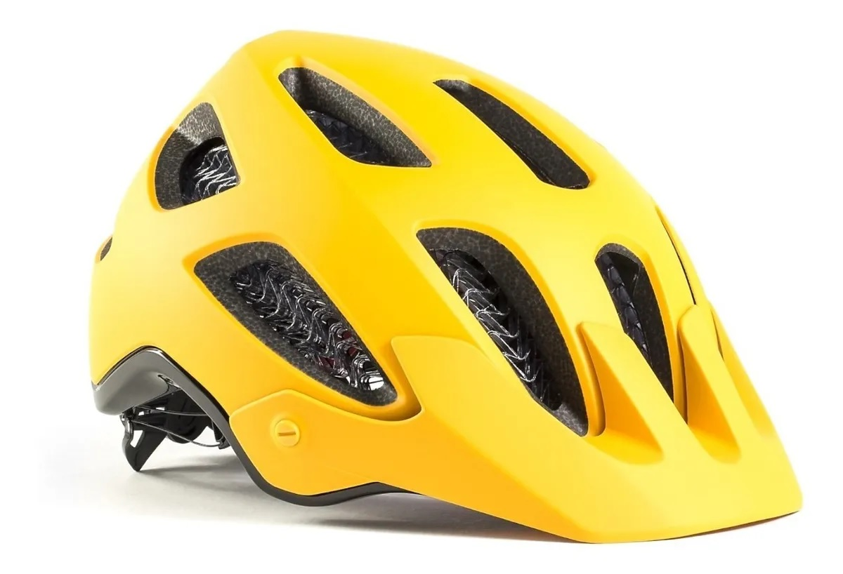 CAPACETE BONTRAGER L RALLY WC YELLOW