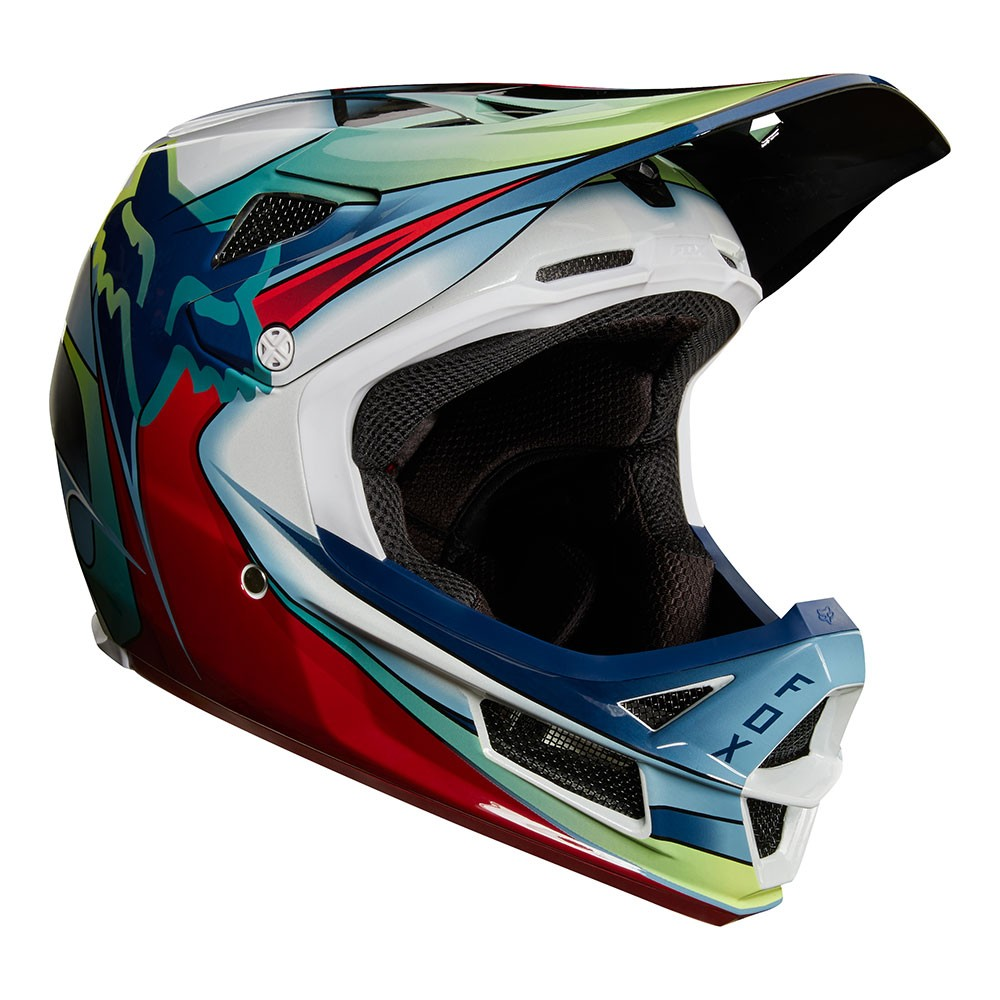CAPACETE L FOX RAMPAGE RPC WHT/RED/BLK