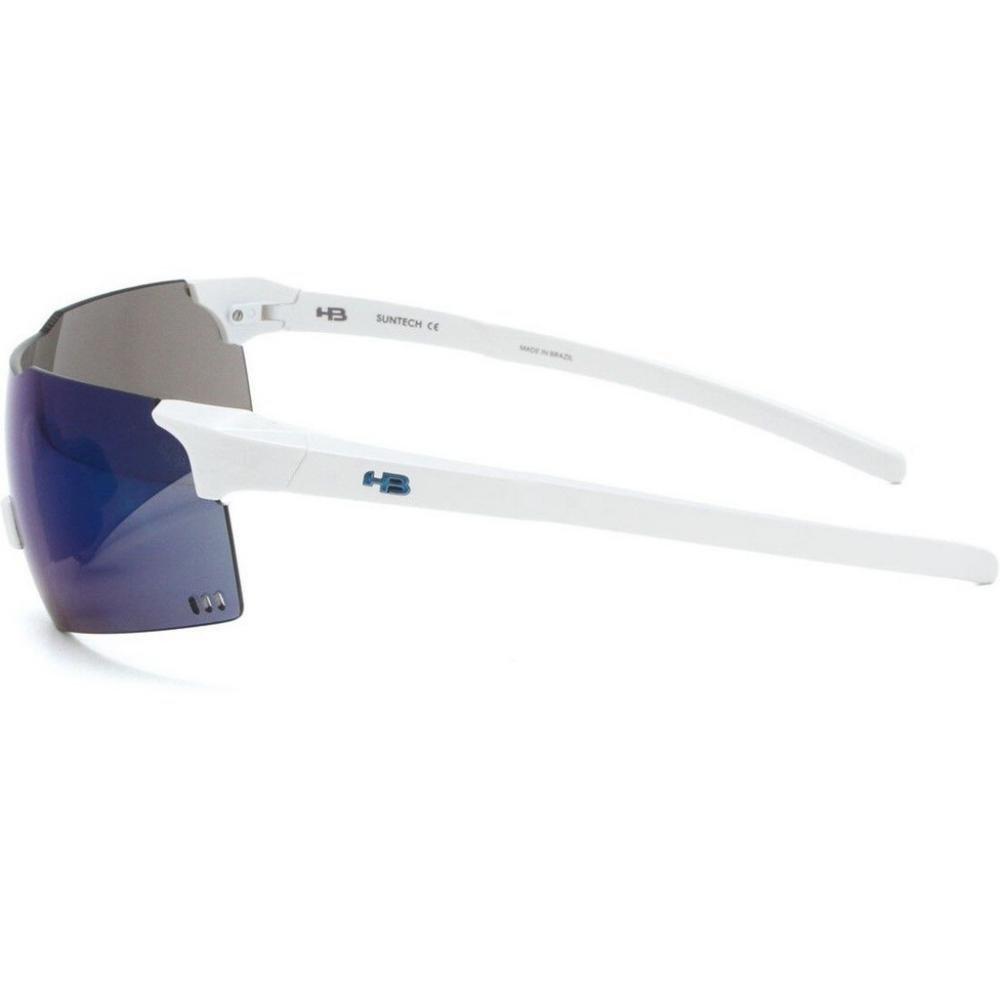 OCULOS HB QUAD V PEARLED WHITE BLUE CHROME