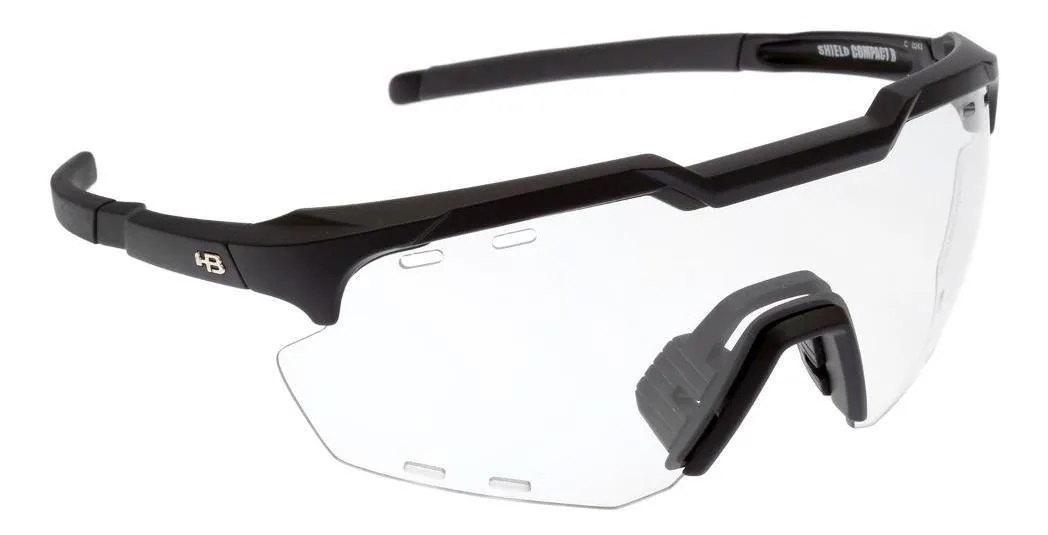 OCULOS HB SHIELD EVO R MATTE BLACK PHOTOCHROMIC