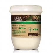 Creme de Massagem Cafeina 7 Ativos 650g (D`Água Natural)
