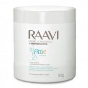 Creme de Massagem Nano Redutor de Medidas Fittie 500g (Raavi)