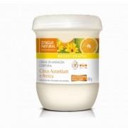 Creme Massagem Corporal Citrus Aurantium e Arnica 650g ( (D`Água Natural)
