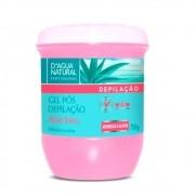 Gel Pós Depilação Aloe Vera 750g (D`Água Natural)