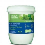 Gel Redutor Mentol Canfora e Cafeina 750g (D`Água Natural)