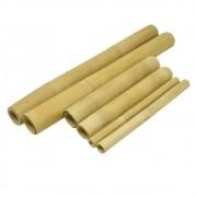 Kit Bambu para Massagem Modeladora Corporal e Facial com 6 Peças Lixado (TB)