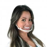 Mascara Higiênica Protetora  ClearMask Branca (Estek)
