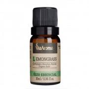 Óleo Essencial 100% Natural 10ml - Lemongrass (Via Aroma)